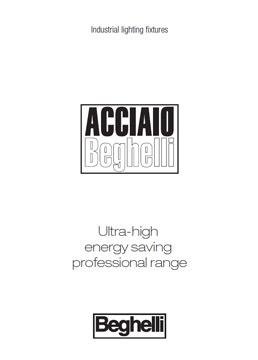 Каталог Промишлено осветително тяло Acciaio
