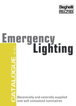 Каталог аварийно осветление Бегели