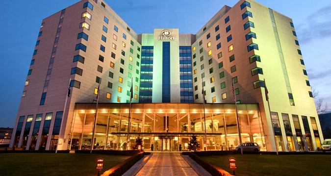 Логолайт Инженеринг достави енергоспестяващи LED осветителни тела за хотел ХИЛТЪН в София
